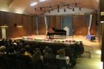 Utrinek iz svečanega zaključnega koncerta - Roland Grlica igra koncertno suito Hrestač P. I. Čajkovskega (1)
